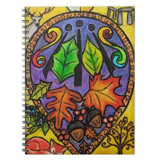 Mabon / Alban Elfed / Autumn / Druid Notebook