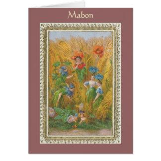 Mabon Greeting Card