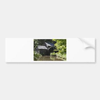 Mabry Mill Car Bumper Sticker