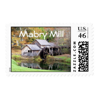 Mabry Mill, NC postage stamp