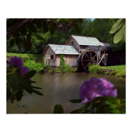 Mabry Mill - Painting Posters