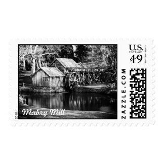 Mabry Mill Stamp