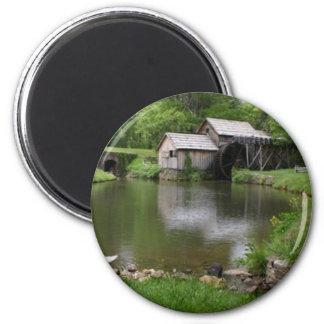 Mabry Mill Virginia Photo Magnet