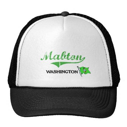 Mabton Washington City Classic Trucker Hat