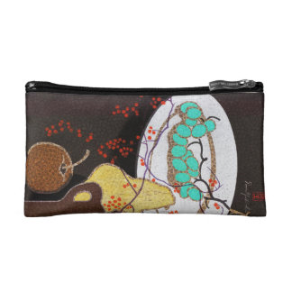 Mabuchi Fruits classic japanese still life vintage Cosmetic Bags