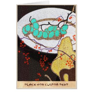 Mabuchi Fruits classic japanese still life vintage Stationery Note Card