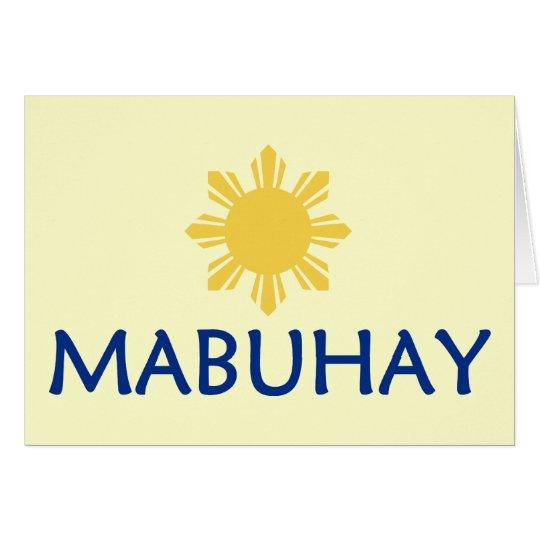 Mabuhay Card