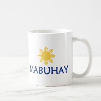 Mabuhay Classic White Coffee Mug