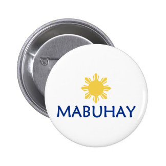 Mabuhay Pinback Button