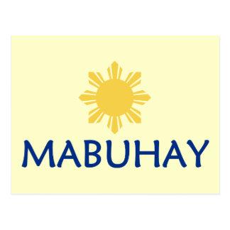 Mabuhay Postcard