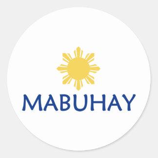 Mabuhay Stickers