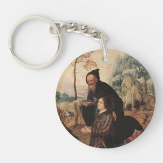Mabuse- St. Anthony with a Donor Keychains