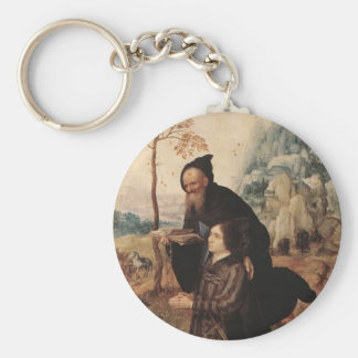 Mabuse- St. Anthony with a Donor Key Chains