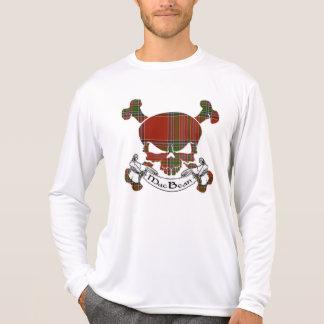 Mac Bean Tartan Skull T-Shirt