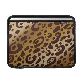 "Mac Book Air Leopard Print 13"" Rickshaw Sleeve Sleeve For MacBook Air"