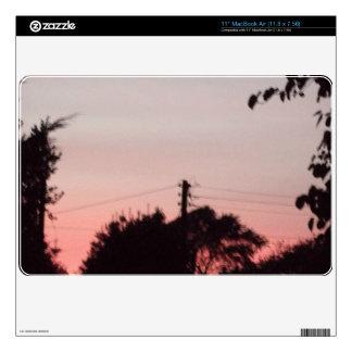 "Mac book air Sunset cover Decal For 11"" MacBook Air"