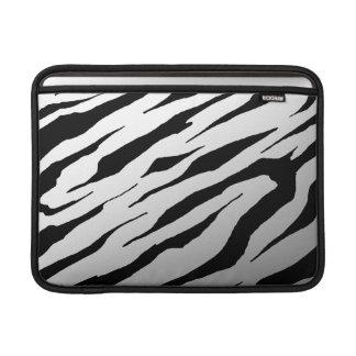 """Mac Book Air White Tiger Stripe 13"""" Rickshaw Sleev MacBook Sleeves"""