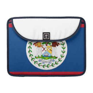 Mac Book Pro Carrying Case w/ Belize Flag Sleeve For MacBook Pro