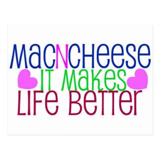 Mac & Cheese Life Postcard
