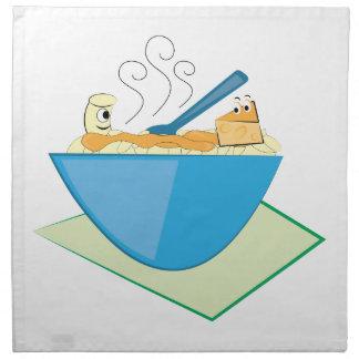 Mac & Cheese Printed Napkin