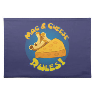 Mac & Cheese Rules Cloth Placemat