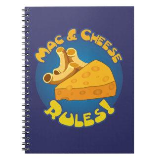 Mac & Cheese Rules Notebook