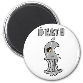 Mac de la muerte imán redondo 5 cm