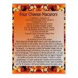 mac del queso 4 tarjeta postal