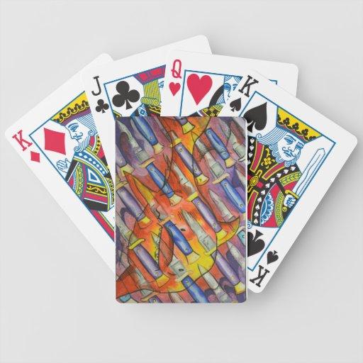 Mac el cuchillo baraja de cartas