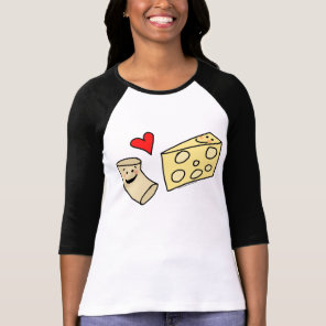 Mac Hearts Cheese, Yummy Macaroni   Cheese Shirt