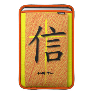 Mac & iPad Sleeve Chinese Symbol Faith