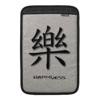 Mac & iPad Sleeve Chinese Symbol Happiness