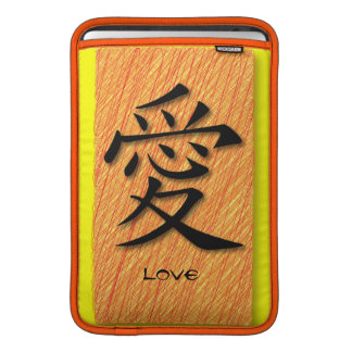 Mac & iPad Sleeve Chinese Symbol Love