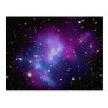 MAC J0717 del racimo de la galaxia