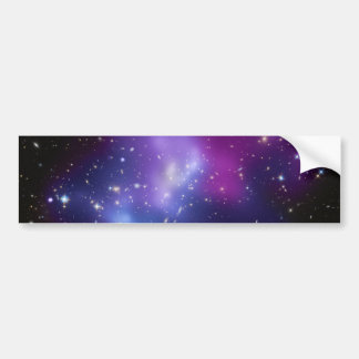 MAC J0717 del racimo de la galaxia Pegatina Para Auto