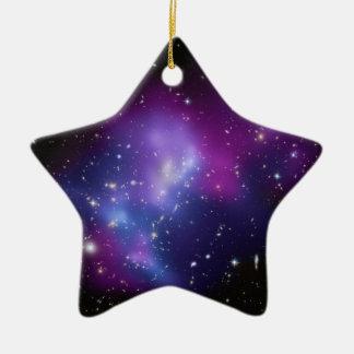 MAC J0717 del racimo de la galaxia Ornato