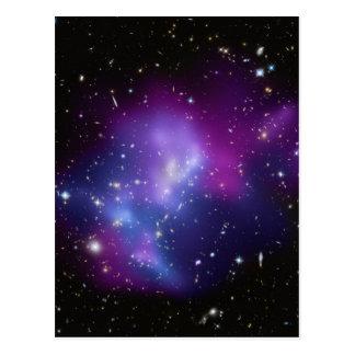 MAC J0717 del racimo de la galaxia Tarjeta Postal