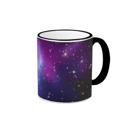 MAC J0717 del racimo de la galaxia Tazas De Café