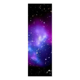 MAC J0717 (telescopio del racimo de la galaxia de Tarjetas De Visita Mini