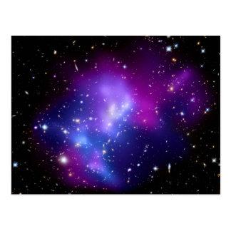 MAC J0717 (telescopio del racimo de la galaxia de Tarjetas Postales