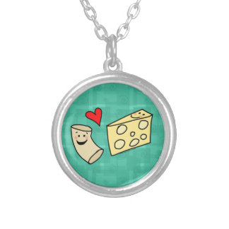 Mac Loves Cheese, Cute Macaroni + Cheese Necklace