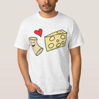 Mac Loves Cheese, Funny Cute Macaroni + Cheese Tees