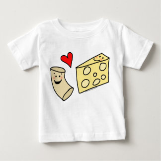 Mac Loves Cheese, Funny Cute Macaroni + Cheese Tees