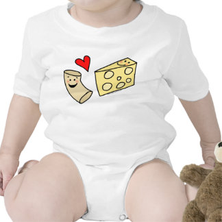 Mac Loves Cheese, Funny Cute Macaroni + Cheese Shirts