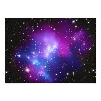 MAC masivos J0717 del racimo de la galaxia Invitación 12,7 X 17,8 Cm