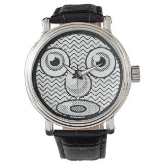 Mac Plussed Face Wristwatch