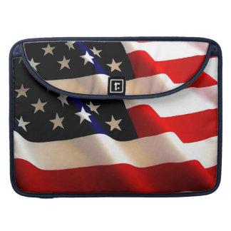 MAC PRO 15 SLEEVE AMERICAN FLAG BODY & FLAP SLEEVE FOR MacBooks