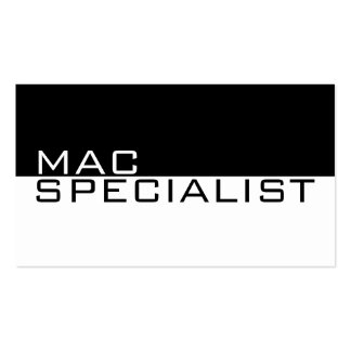 Mac Specialist Computer Laptop Repair Service Business Card