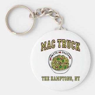 Mac Truck Macaroni Keychain