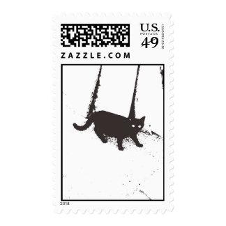 Macabre Cat ~ Postage